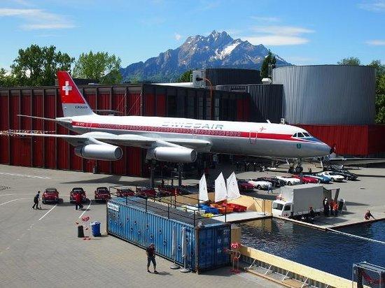 Verkehrshaus der Schweiz: ピラトゥスとスイス・エア