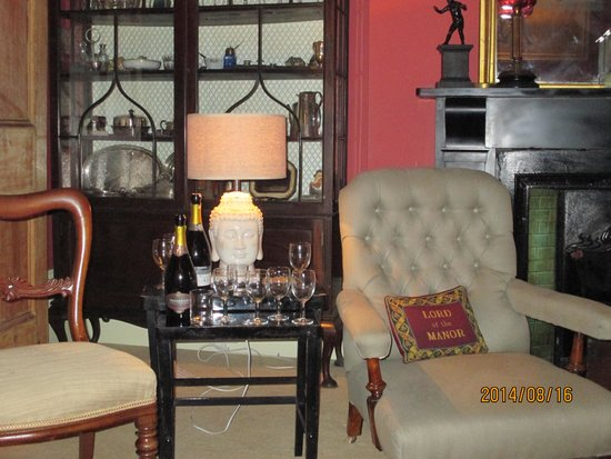 The Bradley: The lounge upstairs