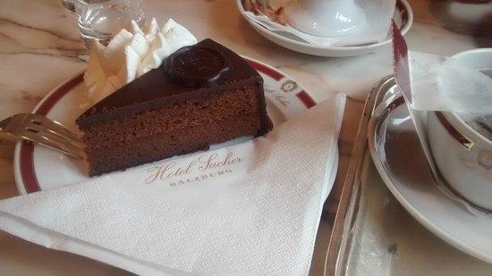 Café Sacher Salzburg: Deliciosa Torta Sacher