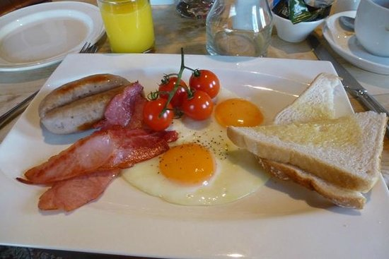 Swan House Boutique Inn: Breakfast for one!