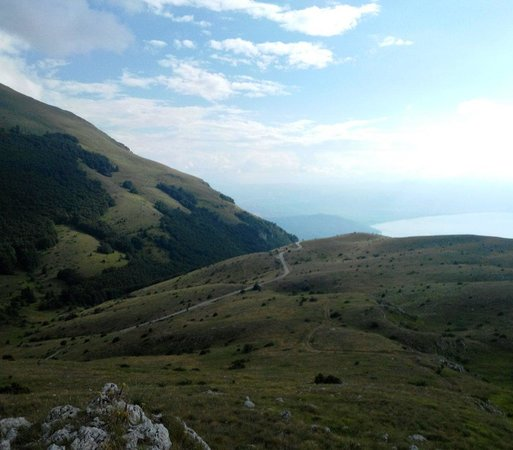 National Park Galicica: View from the mountain