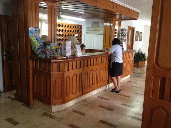 Hotel Palma Mazas: reception