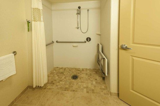 Hampton Inn Presque Isle: Handicap Accessible Roll In Shower