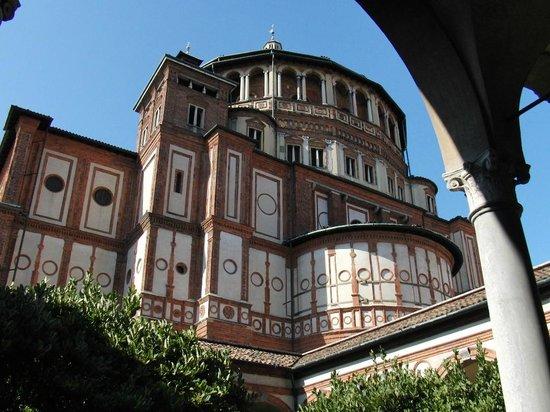Sainte-Marie-des-Grâces (Santa Maria della Grazie) : サンタ・マリア・デッレ・グラツィエ教会
