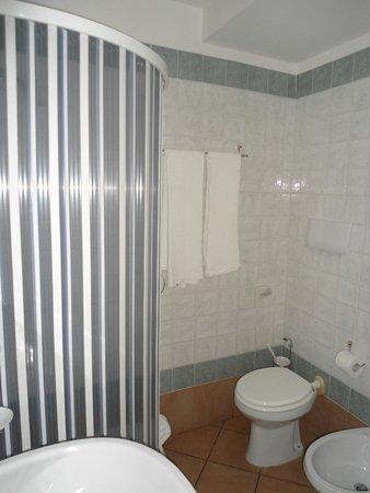 Hotel Bacco: Particolare bagno hotel