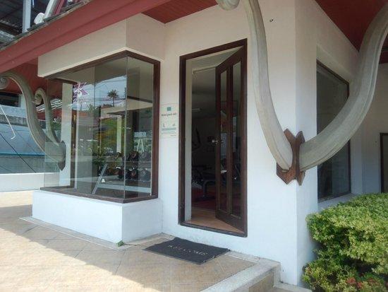 Novotel Samui Resort Chaweng Beach Kandaburi: Outside of the gym