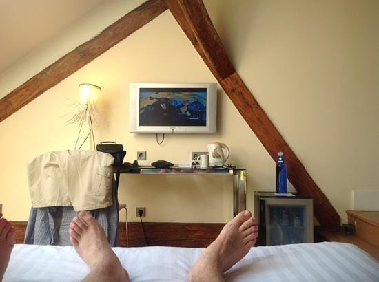 Eurostars Thalia Hotel: view from the great bed