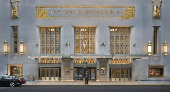 Waldorf Astoria New York: Park Avenue Entrance, The Waldorf=Astoria Hotel
