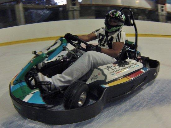 Karting Extreme Verbier : Summer Ice Karting in Verbier