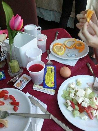Club Meeting Hotel: завтрак