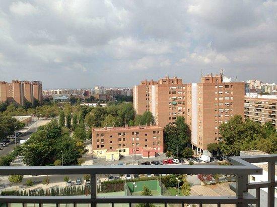 Hotel Medium Valencia: Vista camera 8° Piano