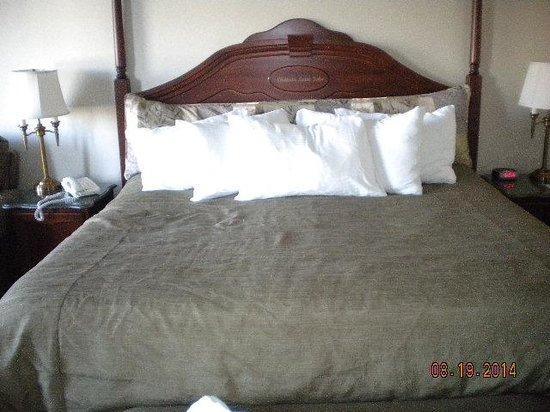 Chateau Saint John: Comfy Bed