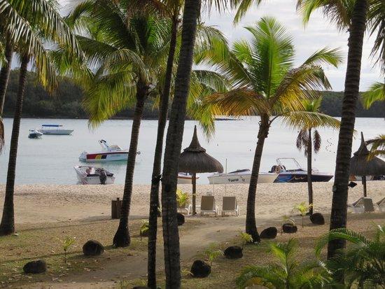 Shandrani Beachcomber Resort & Spa: View from our balcony