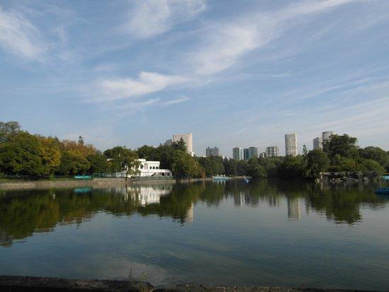 Parque Chapultepec: Park Chapultepec - jezioro