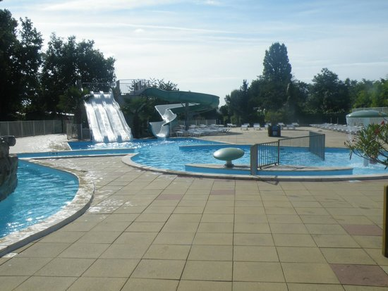 Parc des Allais: la piscine