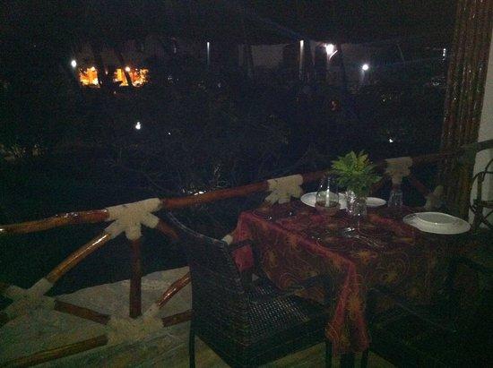 Waridi Beach Resort & Spa: terrazzo della camera