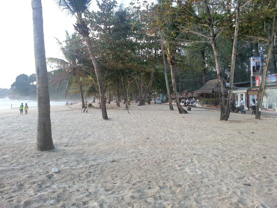 Surin Beach: All beach obstructions removed