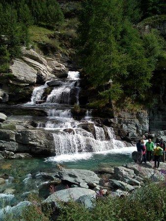 Lillaz Waterfalls : Inizio delle cascate