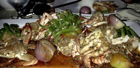 Padre Burgos Castle Resort: our favourite crabs