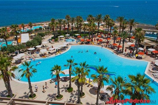 Hilton Malta : View from Executive Lounge