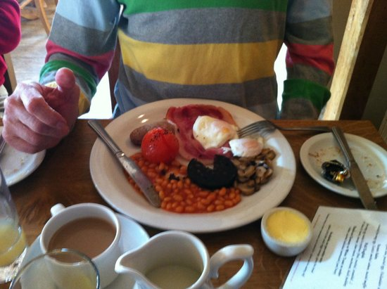 The Red Lion Inn: Delicious breakfast