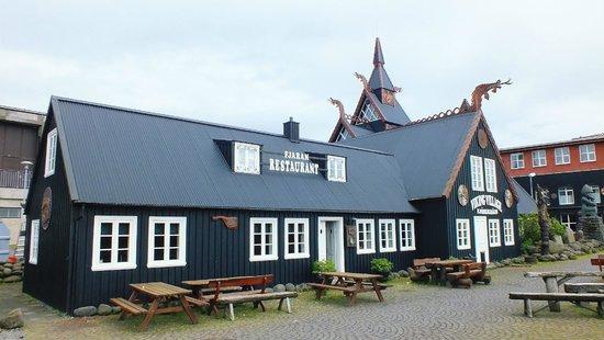 Viking Village Hotel: Exterior of main hotel