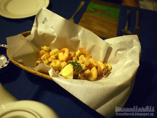 Zibiru: Prawn & Calamari Fritters