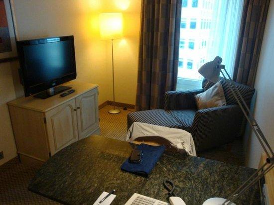 Radisson Blu Hotel, Bremen: Junior Suite-Lounge area