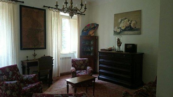 Villa dei Priori: Interno struttura
