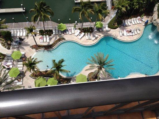 Hyatt Regency Sarasota: Pool view from Balcony