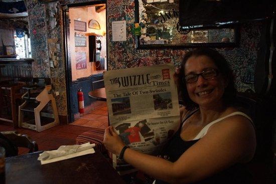 Swizzle Inn : the wifey