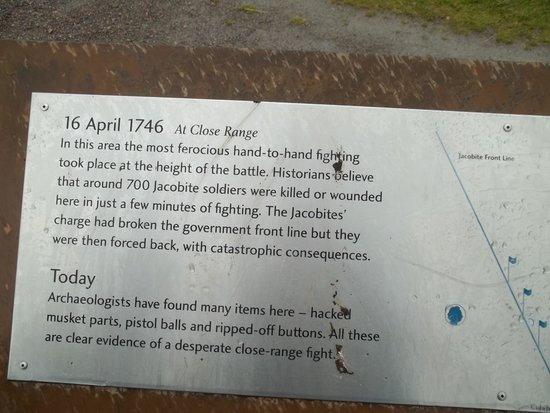 Culloden Battlefield: Entrance to battlefield