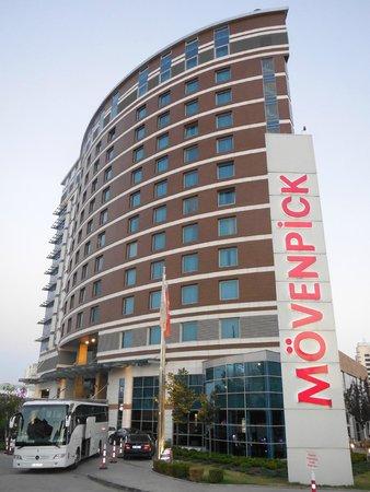 Movenpick Hotel Ankara : Moevenpick Ankara exterior view