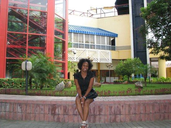 Meliá Santiago de Cuba: giardino