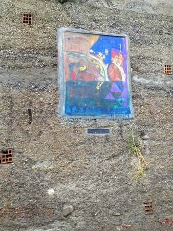 Old Bussana (Bussana Vecchia): Affresco