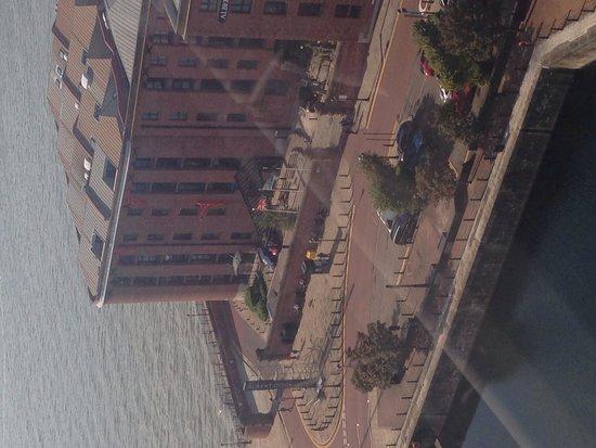 Holiday Inn Express Liverpool-Albert Dock : View from Liverpool wheel
