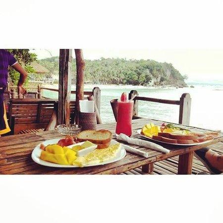 Spider House Resort : breakfast