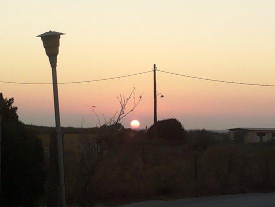 Vallian Village Hotel : sunset
