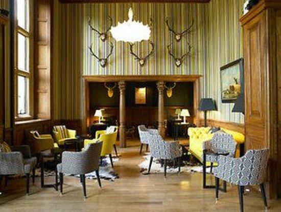 Eynsham Hall Hotel: Bar-Lounge -OpenTravel Alliance - Bar-Lounge-