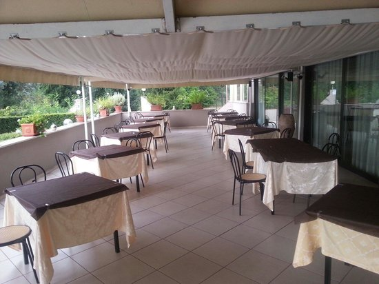 Park Hotel Sabina : Terrazza