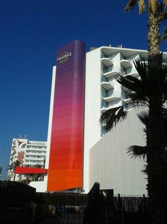 Hard Rock Hotel Ibiza: Facciata