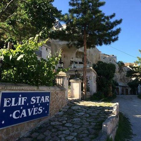 Elif Star Caves Hotel from the outside