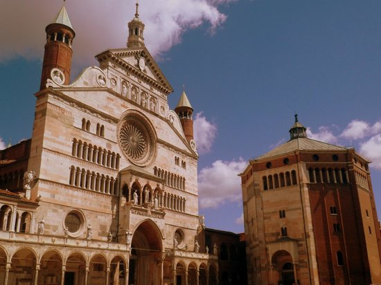 Cremona Baptistery - Museum of Romanesque Stones of Cathedral