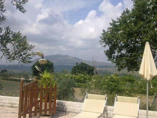 Santa Maria delle Grazie, Italien: panorama dalla piscina