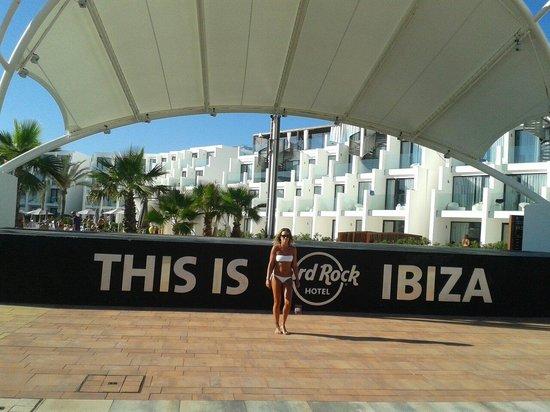 Hard Rock Hotel Ibiza: Palco