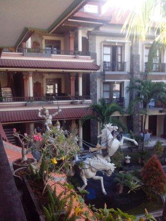 La Walon Hotel: View from my room