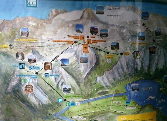 Obertraun, Österreich: 5 пальцев - на горе