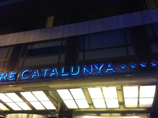 Gran Hotel Torre Catalunya : Insegna