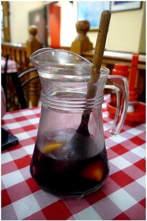 Xaica Restaurant : Pichet de sangria (délicieuse!!!)