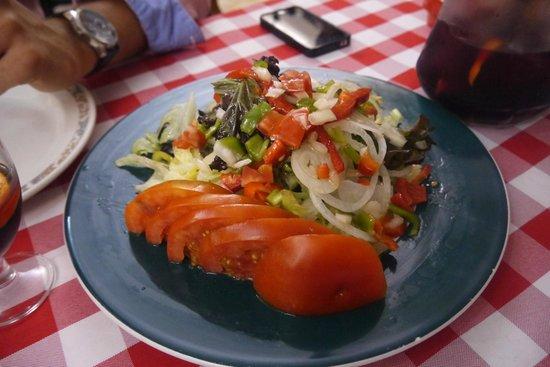 Xaica Restaurant : Salade